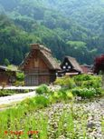 Traditional house in Shirakawa