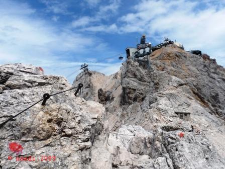 Zugspitze_peak
