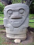 Statue in the Archeological Park, San Agustín