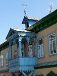 Russian architecture in Karakol