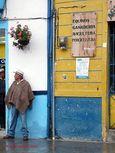 Street scene in Salento