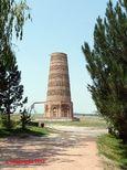 The Burana minaret near Bishkek