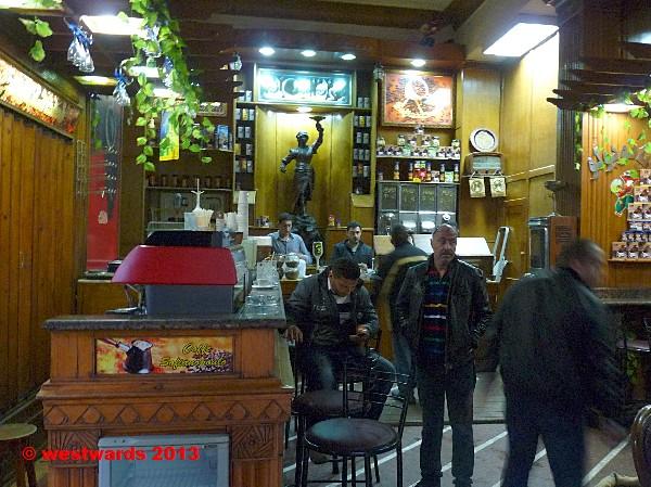 Sofianopoulis Cafe in Alexandria, Egypt