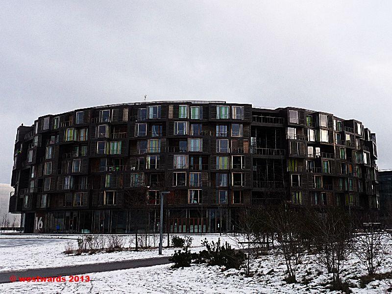 Tietgen student hall in Orestad, Copenhagen, Denmark