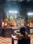 The Jade Emperor Pagoda in Saigon