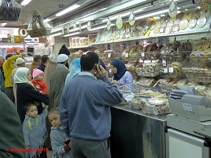 El Abd bakery in Cairo