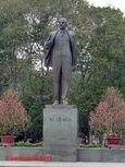 Lenin statue in Hanoi