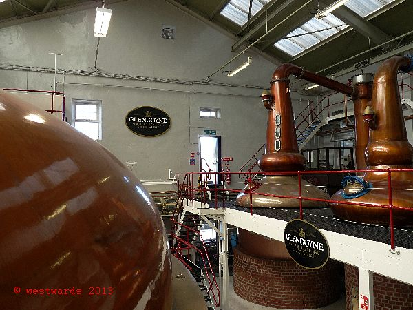 Glengoyne Distillery near Glasgow
