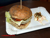 The vegetarian Witten-Burger at Wittenburger in Wittenberg