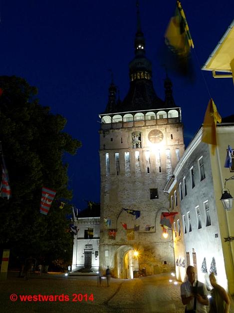 Clock tower in Sighisoara / Schässburg