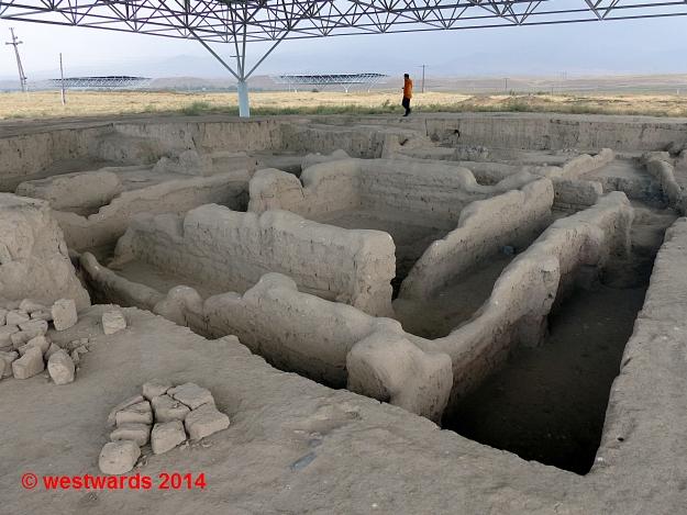 UNESCO world heritage site of Sarazm