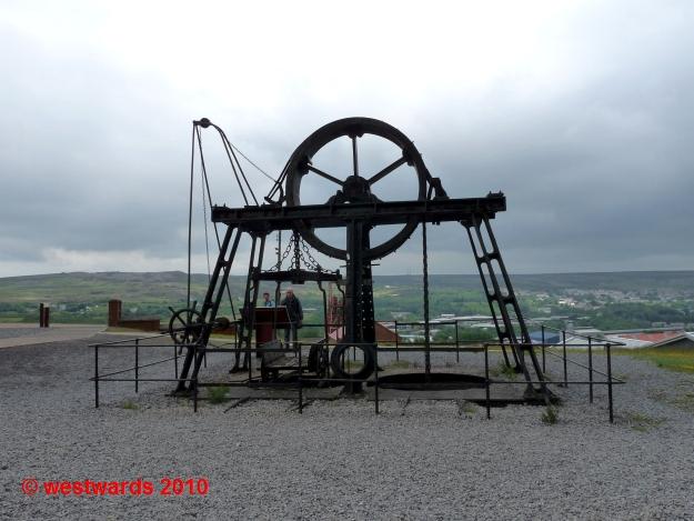 Industrial landscape at Blaenavon, South Wales