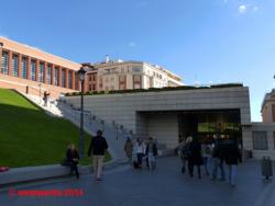 Prado extension building in Madrid by Rafael Moneo