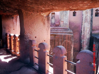 In the Bet Gabriel / Bet Rafael church complex in Lalibela