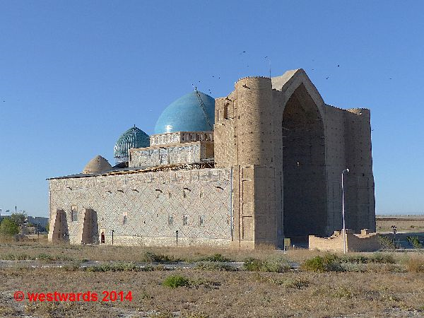 Mausoleum of Ahmed Yassawi in Turkestan