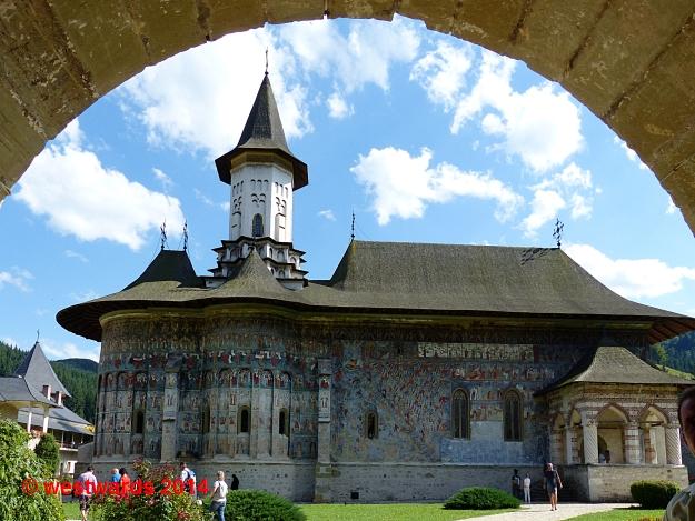 Painted Monastery of Sucevita, UNESCO World Heritage