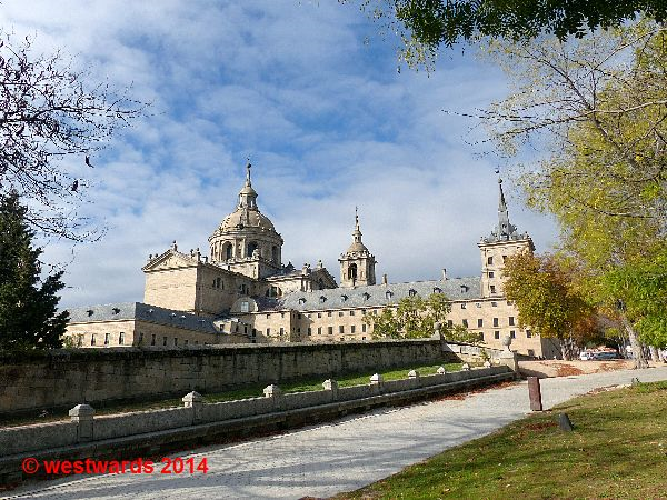 Palace and monastery of El Escorial, Spain