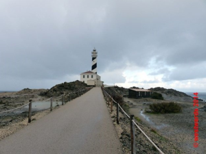 The lighthouse at Cape Favaritx, Menorca