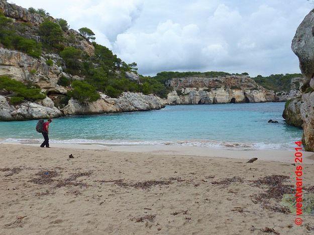 Cala Macarellata on Menorca