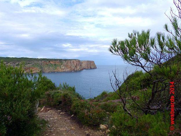 Cala Des Fontanelles on Menorca